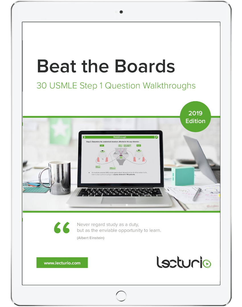 Beat the Boards (eBook): 30 USMLE Step 1 Question Walkthroughs